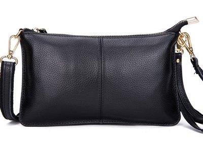 全皮小包包 頭層牛皮女士斜挎包 手拿包 晚宴包 休閑包 手機包 零錢包