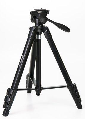 呈現攝影-SAMARK VCT-868攝錄影腳架 中大型三腳架 高163低50手機/相機三腳架 附雲台四節 鋁合金