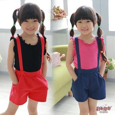 ○。° 彩色泡泡 °。○ 童裝【貨號Q7445】春夏。可愛吊帶短褲裙~2色