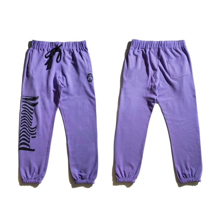 { POISON } MOONBLIND PURPLE FANSTASY TROUSERS 紫色幻想 長棉褲