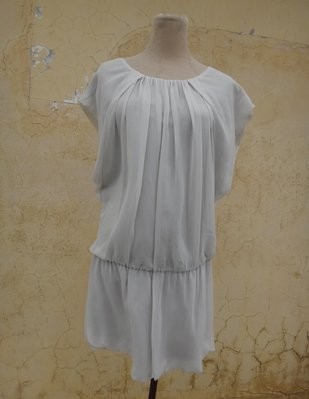 jacob00765100 ~ 正品 日本品牌 CLEAR IMPRESSION 灰色 雪紡洋裝 size: 2