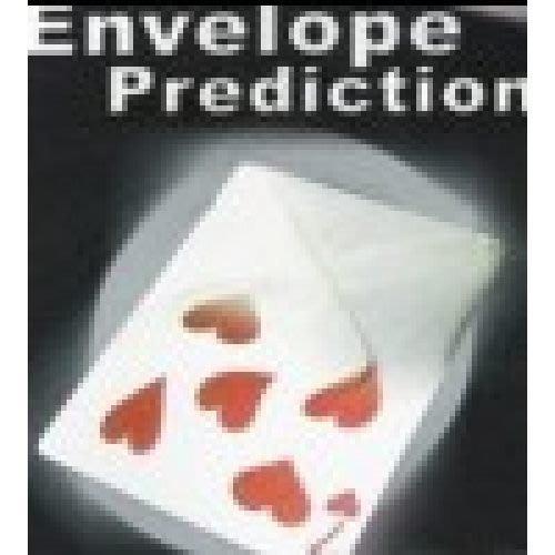 【意凡魔術小舖】信封雙預言 FISM熱賣撲克牌魔術 魔術道具專賣店