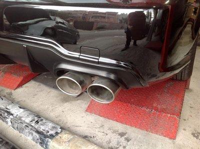 排氣管專門店Y7009  Benz W211 4出尾飾管改裝