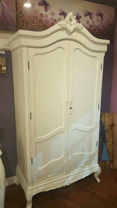 美式鄉村風衣櫃衣櫥 法式 雕刻衣櫃衣櫥