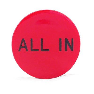 戀物星球 DEALER Button 大小盲注 塑料莊碼 壓牌莊片 DC-002/10件起購