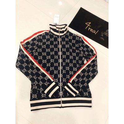 [4real] Gucci 18fw 滿版雙G 夾克