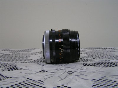 Canon FD 50mm 1:1.4 S.S.C