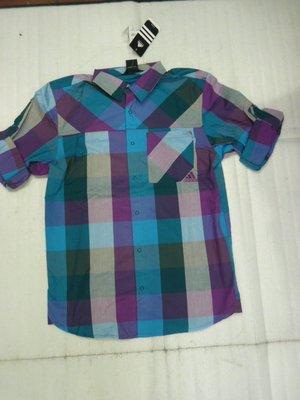 【n0900台灣健立最便宜】  -透氣休閒運動長袖襯衫-ED CHECK S-X17762。