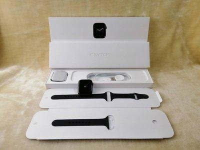 0408 二手保內極新 Apple Watch S6 GPS 44mm 灰鋁殼+黑色錶帶 M00H3TA/A A2292