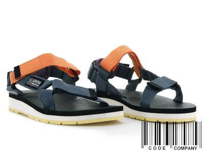 =CodE= PALLADIUM OUTDOORSY URBANITY 魔鬼氈涼鞋(藍黑橘紫) 77071-479 女