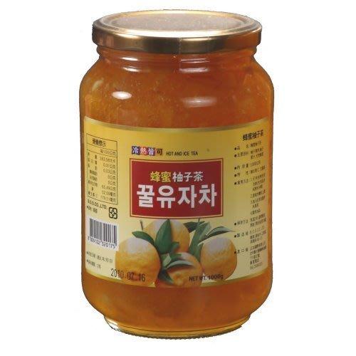 高麗購◎正友韓國蜂蜜柚子茶1公斤1箱12瓶/整箱免運費平均每瓶只要200