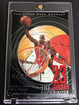 🐐1998-99 Upper Deck 23 Nights The Jordan Experience #50 Michael Jordan