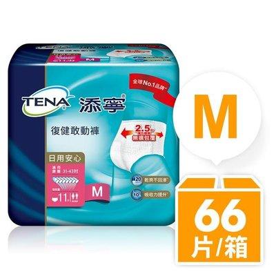 【永豐餘】添寧 復健敢動褲(新升級)m號 (11片x6包/箱) 成人 透氣 防漏 不回滲 敏感性肌膚 31-43吋