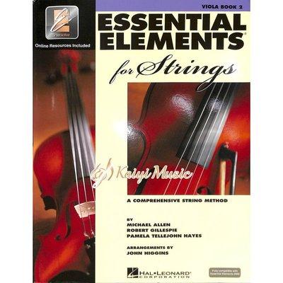 【Kaiyi Music】Essential elements viola book 2 中提琴教材 樂譜