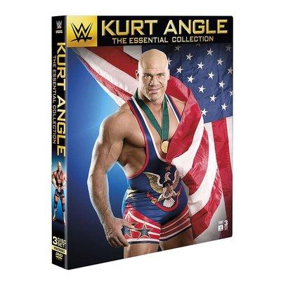 ☆阿Su倉庫☆WWE摔角 Kurt Angle: The Essential Collection DVD 安格精選專輯