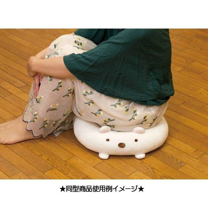 角落坐墊--日本SAN-X 角落生物/角落公仔美臀坐墊/甜甜圈坐墊-貓咪--秘密花園