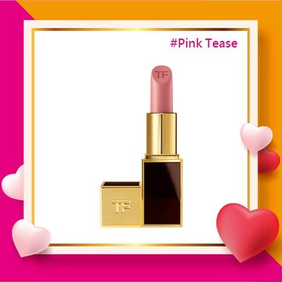 17 LOVELY♡ 預購 Tom Ford #Pink Tease Lip Colour Matte 黑管唇膏