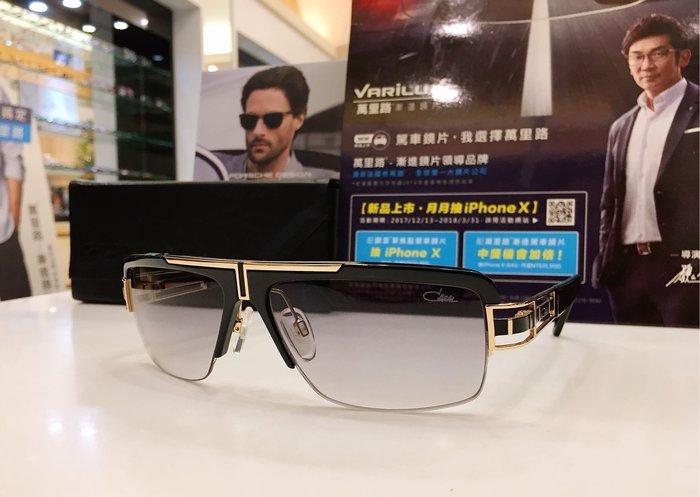 精光堂眼鏡 CAZAL 德國手工框 黑色金屬漸層太陽眼鏡 精密的工藝 每副眼鏡都有極高的辨識度 有自己獨特的魅力 9033
