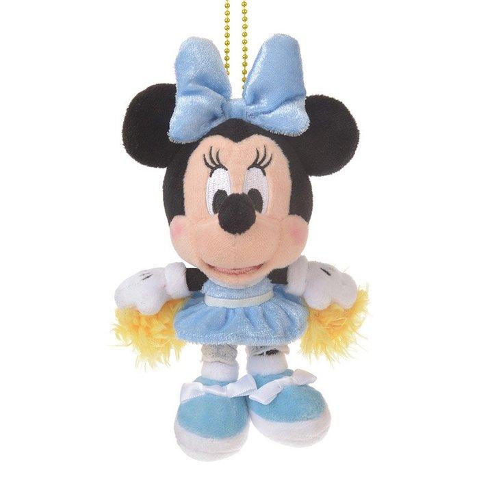 啦啦隊米妮吊飾 加油米妮 CHEER UP! 日本迪士尼商店正版~彤小皮的遊go世界