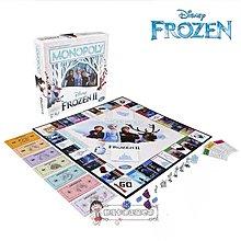 動漫卡通地帶 迪士尼 正品 魔雪奇緣 冰雪奇緣 Frozen 艾莎 安娜 大富翁 棋牌 卡牌 遊戲 新款 日本