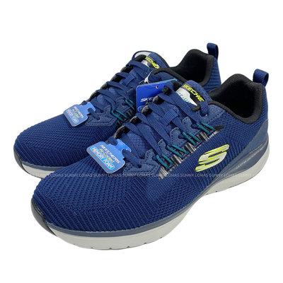 (BX) SKECHERS 男鞋 ULTRA GROOVE 健身房訓練鞋 運動鞋 健走鞋 232146NVY藍[迦勒]