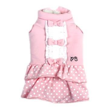 貝果貝果  日本 pet paradise 代理 Pretty Bouquet  鋪棉連身裙  [D10009]