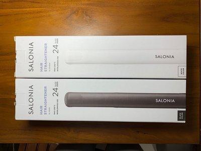 【現貨】日本銷售第一SALONIA 離子夾 電捲棒 SL-004S 負離子 直髮棒 黑與白