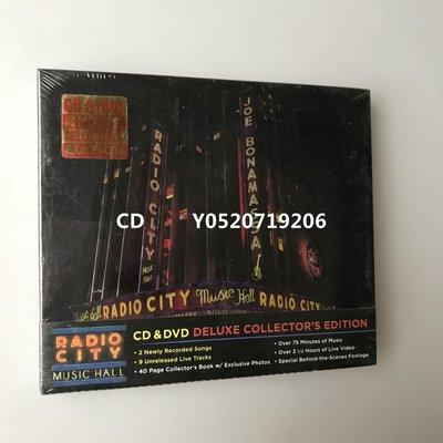 Joe Bonamassa Live At Radio City Music Hall 豪華精裝版 C+d 全新盒裝