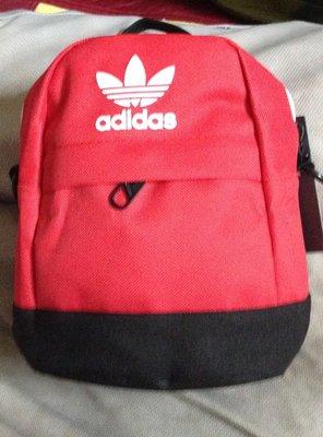 全新adidas mini backpack 小包包 運動 後背包 手提包 側背包三葉草