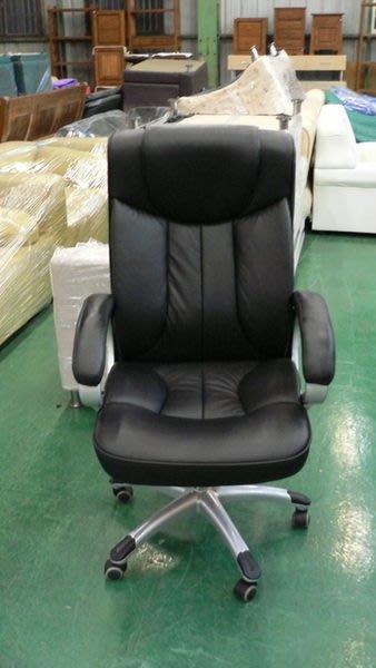 宏品二手家具館 庫存辦公傢俱拍賣L608*時代全新真皮辦公椅*牛皮電腦椅/董事長椅/書桌椅