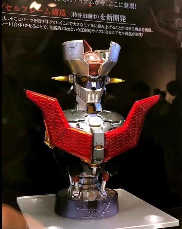 【奇蹟@蛋】BANDAI (轉蛋)環保扭蛋 魔神Z 無敵鐵金剛 可組成胸像 全3種 整套販售-現貨