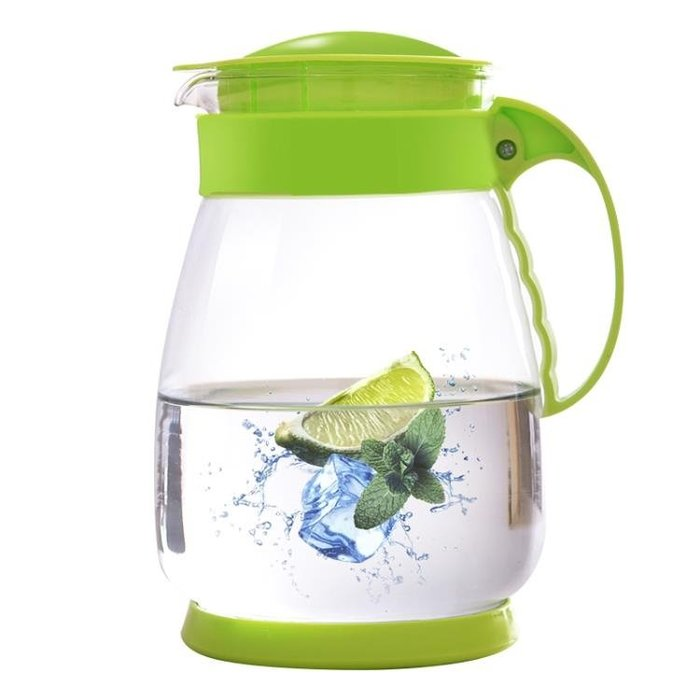夏季玻璃茶壺家用耐高溫涼水壺大容量冷水壺耐熱防爆涼水杯 JA3048