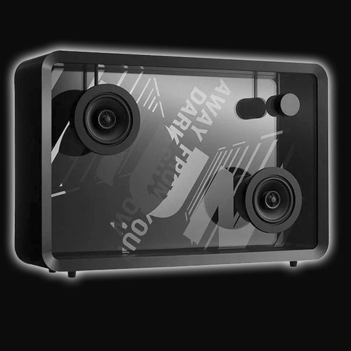 5Cgo【發燒友】2019新上市 Lyric Speaker 日本字幕音響 WIFE連接22吋壓克力屏幕 含稅