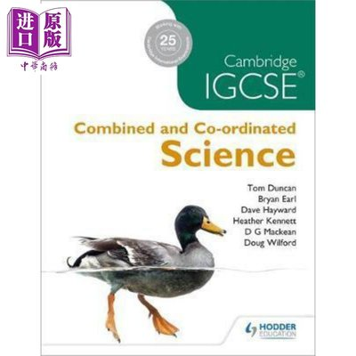 Cambridge IGCSE Combined and Co-ordinated Sciences 英文原版 劍橋IG