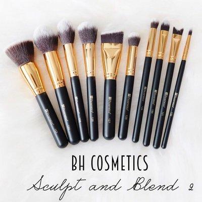 (現貨在台)Bh Cosmetics Sculpt and Blend 2 10支化妝刷具組/套組