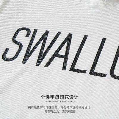 【免運】-新品夏季新款連帽短袖男士t恤...
