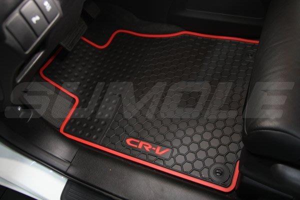 *狗狗的雜貨店*本田Honda CRV CRV4 CRV3 專用全車腳踏墊 立體 防水 耐磨 橡膠腳墊 地墊 防水墊 V