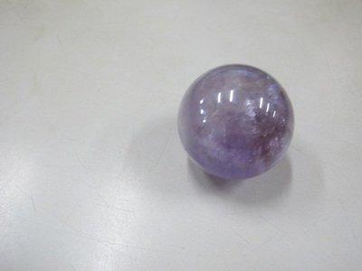 二手舖 NO.3204 天然紫水晶球 開運招財 智慧 居家擺件