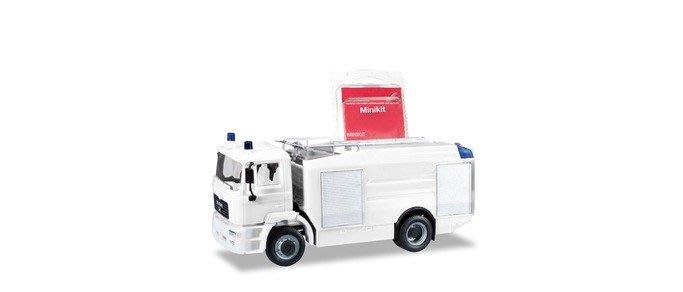 宗鑫 Herpa MiniKit H013567 MAN M 2000 Evo 消防水箱車 簡易自組盒