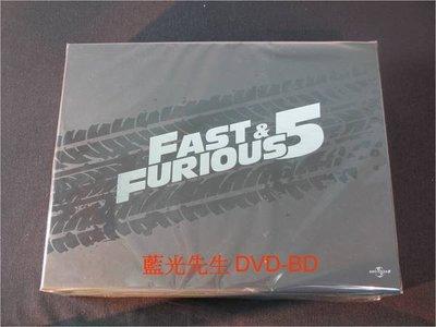 [藍光BD] - 玩命關頭5 Fast & Furious 5 精裝禮盒版