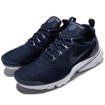 【AYW】NIKE PRESTO FLY SE 深藍灰 魚骨 襪套 網布 輕量 復古 慢跑鞋 休閒鞋 運動鞋 us10