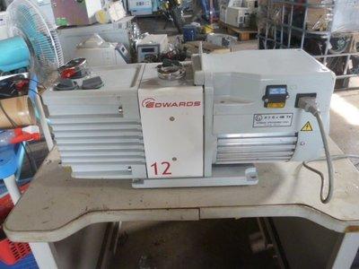 EDWARDS RV-12 真空幫浦 油式真空泵 VACUUM PUMP