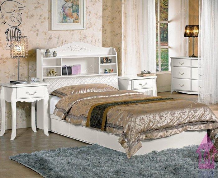 【X+Y時尚精品傢俱】單人床雙層床系列-仙朵拉 3.5尺單人書架型被櫥式床頭箱.不含床架及床頭櫃.另有雙人.摩登家具