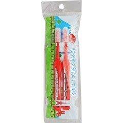 【小糖雜貨舖】日本 新幹線牙刷 - 2入組 - 紅色