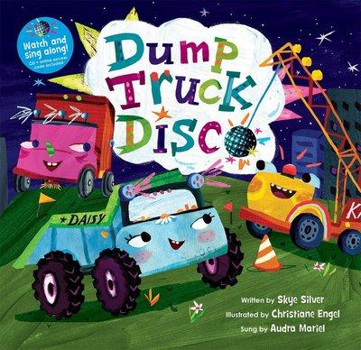 *小貝比的家*DUMP TRUCK DISCO/書+VCD/5-6歲大班/交通工具