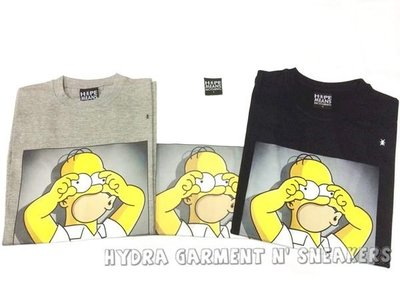 【HYDRA】法國直送 HMN Hype Means Nothing HOMER SIMPSONS 辛普森 三色 XS ~ L 全新正品