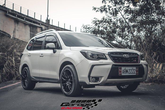 德朋國際 /  RAYS 2X9 鑄造輕量化鋁圈 Subaru Forester 實裝
