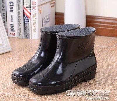 春夏成人雨鞋女士水鞋套鞋短筒膠鞋防水中筒雨靴女時尚水靴女單鞋DBX