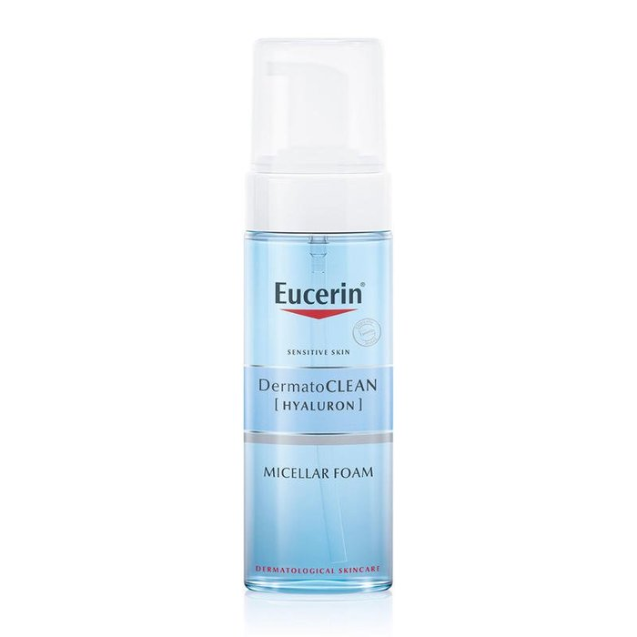 inkorea美妝正品代購 現貨Eucerin 優色林 舒安溫和滋潤潔面泡沫保濕潔面乳敏感肌150ml
