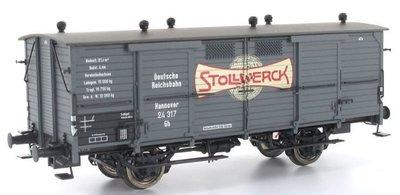傑仲 博蘭 BRAWA 車廂 Freight Car FRG Ⅲ Stollwerck 48660 HO
